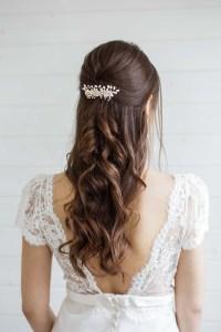Alyssum Pearl Wedding Hair Comb - Victoria Millesime