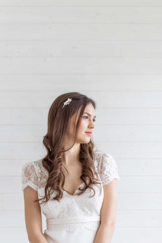 Pearl Bridal Headpiece Wedding Shop London