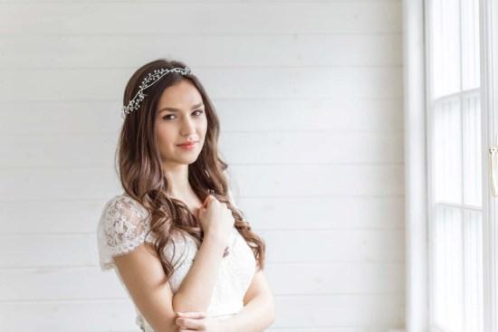 Artimisia Wedding Hair Vine