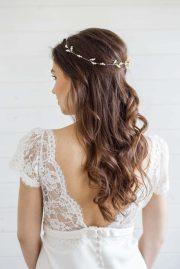 hypericum wedding hair vine - victoria