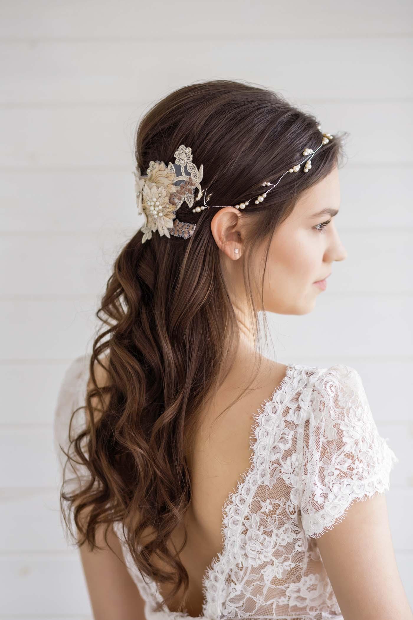 Hypericum Wedding Hair Vine Victoria Millesime