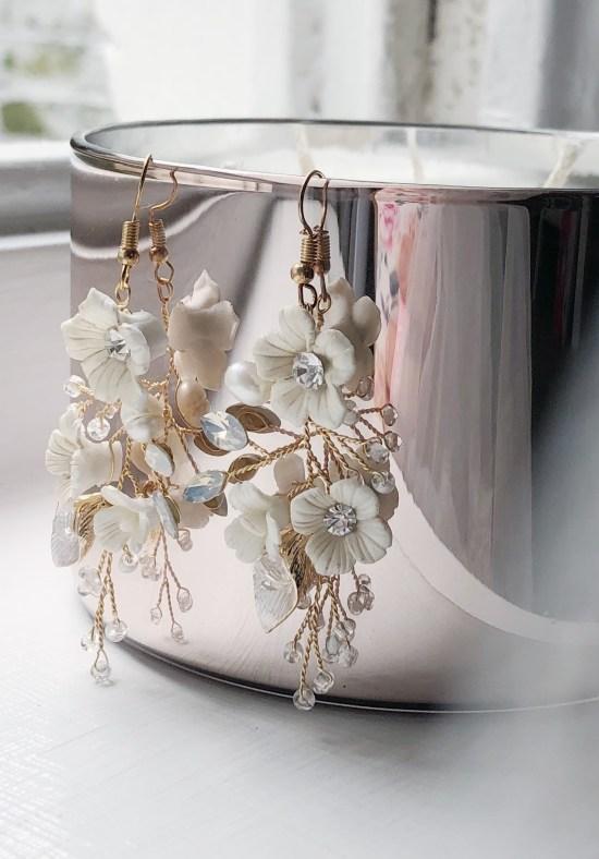 Statement Large Wedding Earrings