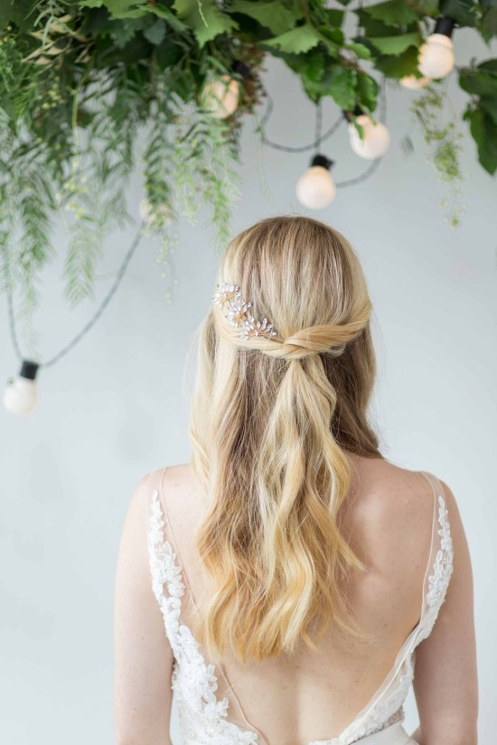 Star Burst Bridal Hair Pin