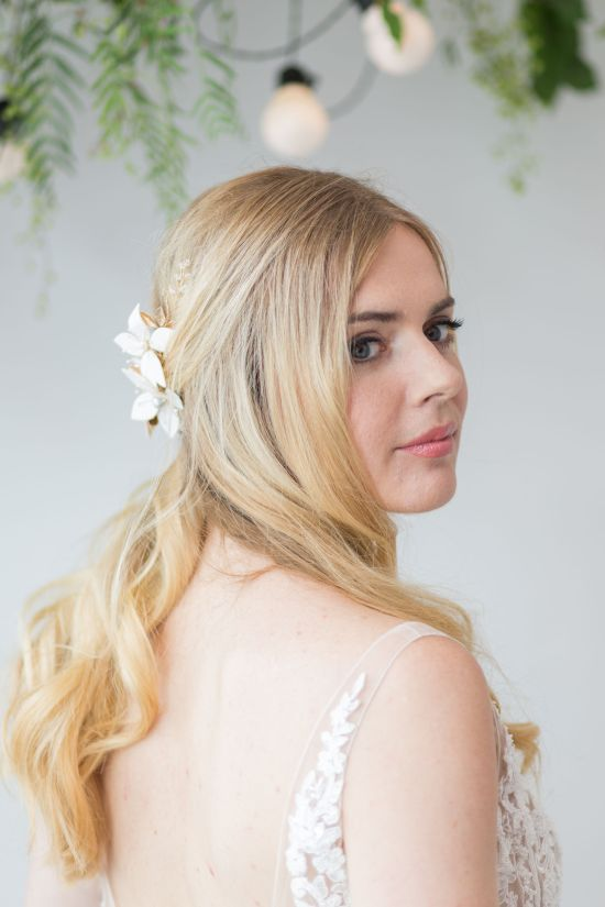 Esther Statement Wedding Headpiece