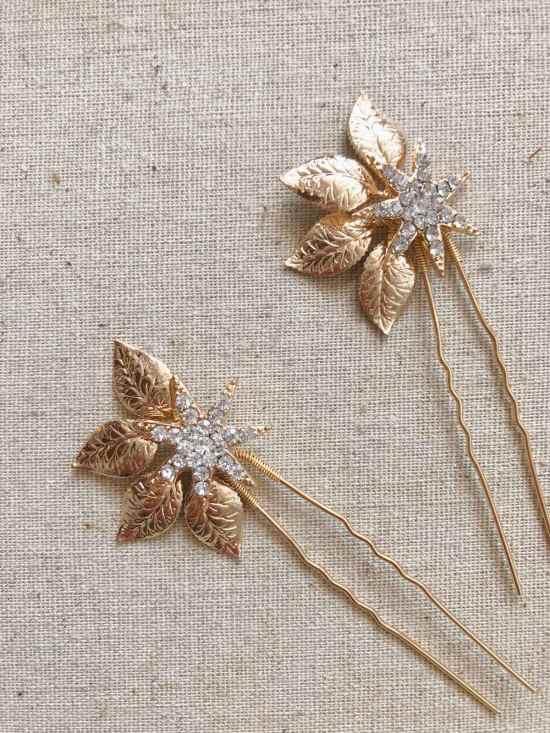 Celestia Gold Star Hair Pin
