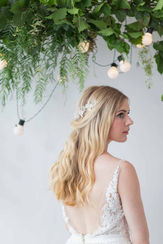 Hawke Silver Wedding Hair Pin
