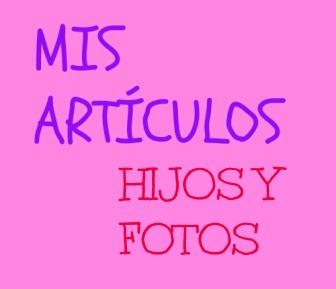 HIJOS Y FOTOS es un mini artículo sobre el paso del tiempo. Es duro, la verdad. Es duro tener que recurrir a las fotos de tus hijos. Duro. Y triste.