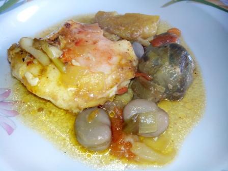 """OLLETA DE CUARESMA, una receta sin carne y con mucha verdura; de esas """"de toda la vida"""" que mi madre prepara en cuaresma t Semana Santa."""