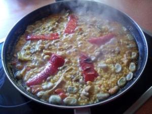 Paella verdura 1