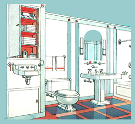 7 places to add an extra bathroom - victoriana magazine