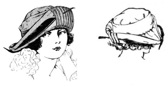 1920s Rolled Brim Vintage Hats (PICTURES)