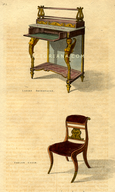 Regency Furniture and Window Curtains
