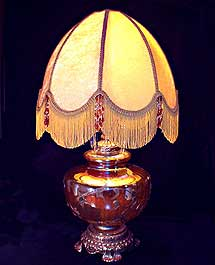 How to Recover Lamp Shades  The Art of HandSewn Lamp Shades