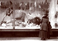 Pictures of Christmas Holiday Windows - Victoriana Magazine