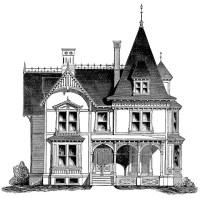 Cottage House Plans | French Gothic Cottage