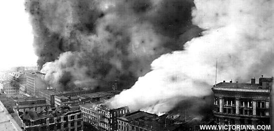 1906 Damage San Earthquake Francisco