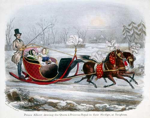 Queen Victorias Winter Sleigh