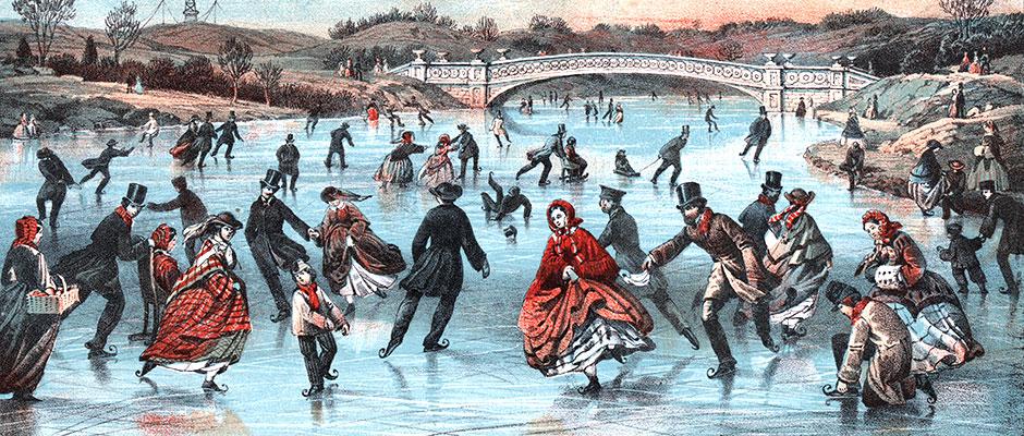Winter Sports Over 100 Years Ago Victoriana Magazine