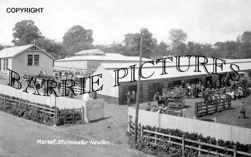 Sturminster Newton, Market 1923