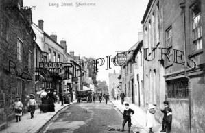 Sherborne, Long Street c1900