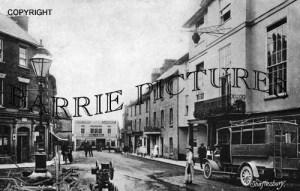 Shaftesbury, High Street c1920