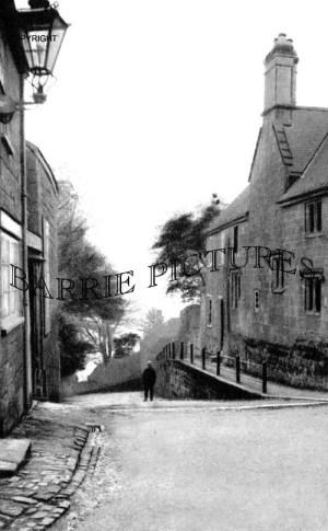 Shaftesbury, Tout Hill c1900
