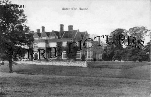 Motcombe, House c1934