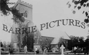 Motcombe, Church c1900