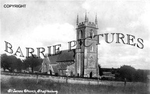 Shaftesbury, St James Church c1930