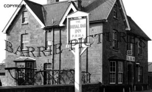 Motcombe, The Royal Oak Inn c1950
