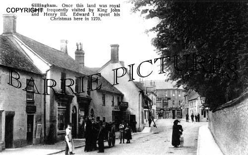Gillingham, High Street c1910