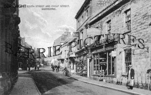 Sherborne, South Street and Cheap Street c1910