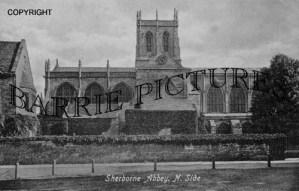 Sherborne, Abbey c1900