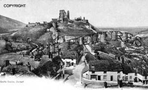 Corfe Castle, c1905