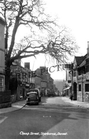 Sherborne, Cheap Street c1960