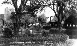 Stour Provost, Church c1960