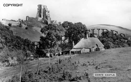 Corfe Castle, c1920