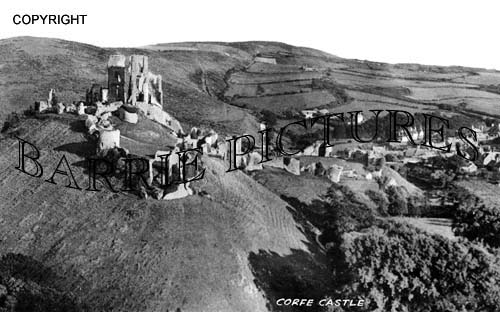 Corfe Castle, 1950