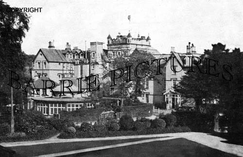 Bournemouth, Exeter Hotel c1925