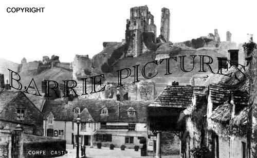 Corfe Castle, c1930