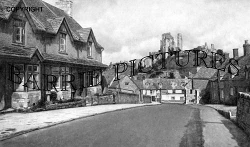 Corfe Castle, c1955