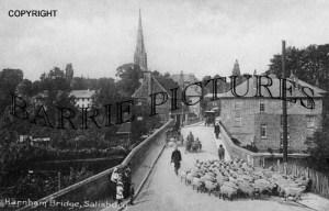 Salisbury, Herham Bridge c1910