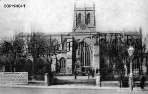 Sherborne, Abbey c1915
