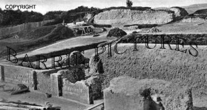Old Sarum, Great Tower Footing c1930