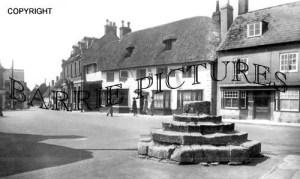 Sturminster Newton, Market Cross c1960