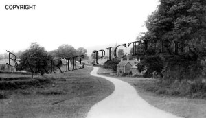 Semley, from the Hill c1925