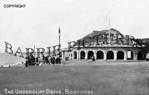 Boscombe, The Undercliff Drive c1930