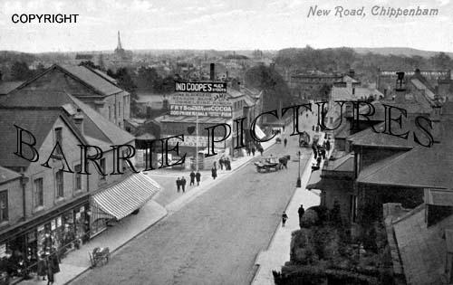 Chippenham, New Road c1900
