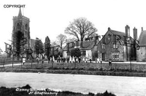 Semley, Church and School c1900
