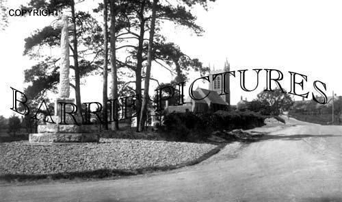 Bourton, Church c1920
